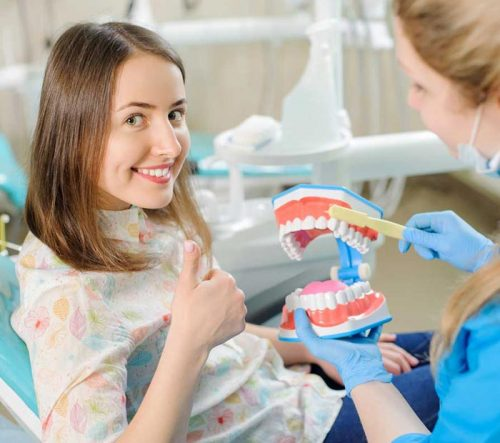 Case supervised by our orthodontist